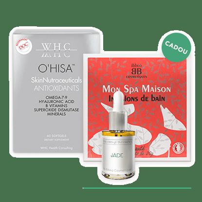 Imagine Pachet O'HISA + Săculeți pentru baie Beauté + Serum Organo-Cosmetic JADE
