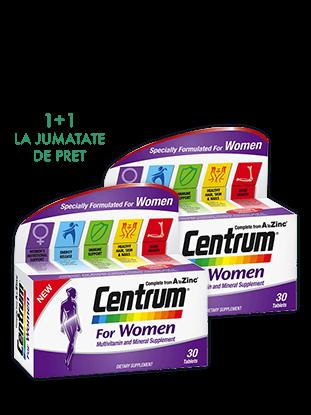 Imagine Pachet 2 x CENTRUM pentru Femei