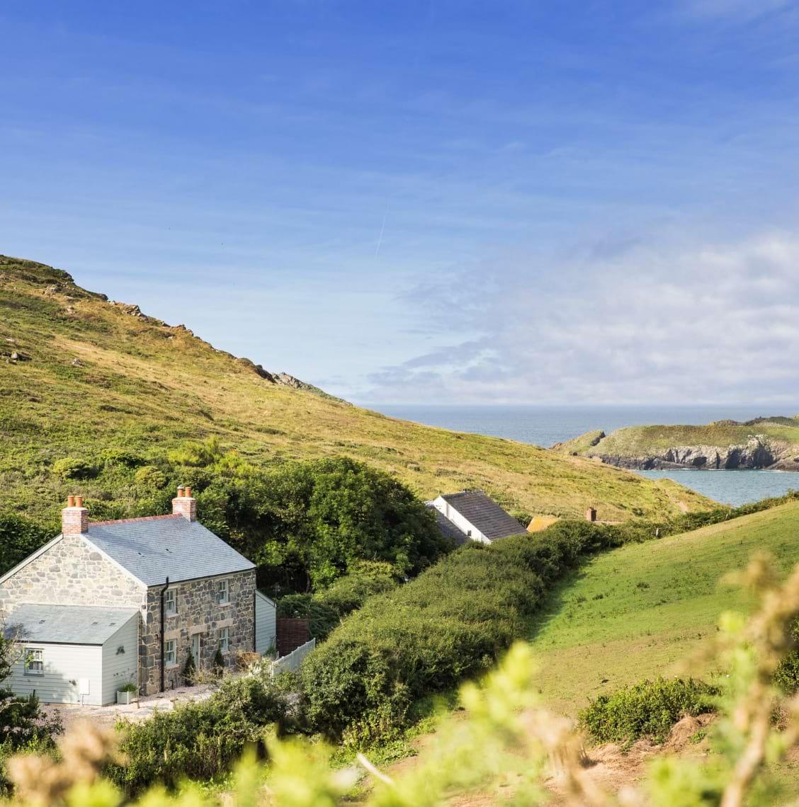Landscape photograph of the North Cornish Coast