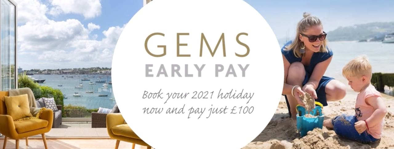 Book your 2021 holiday now and pay just £100