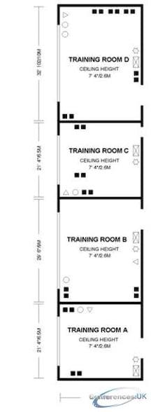 Training Rooms B & D