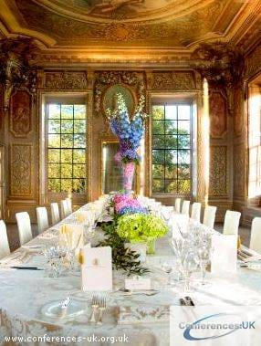 Dining in Banqueting House