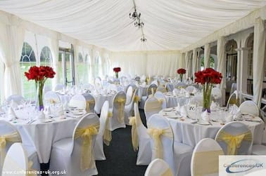 Wedding in Winter Marquee