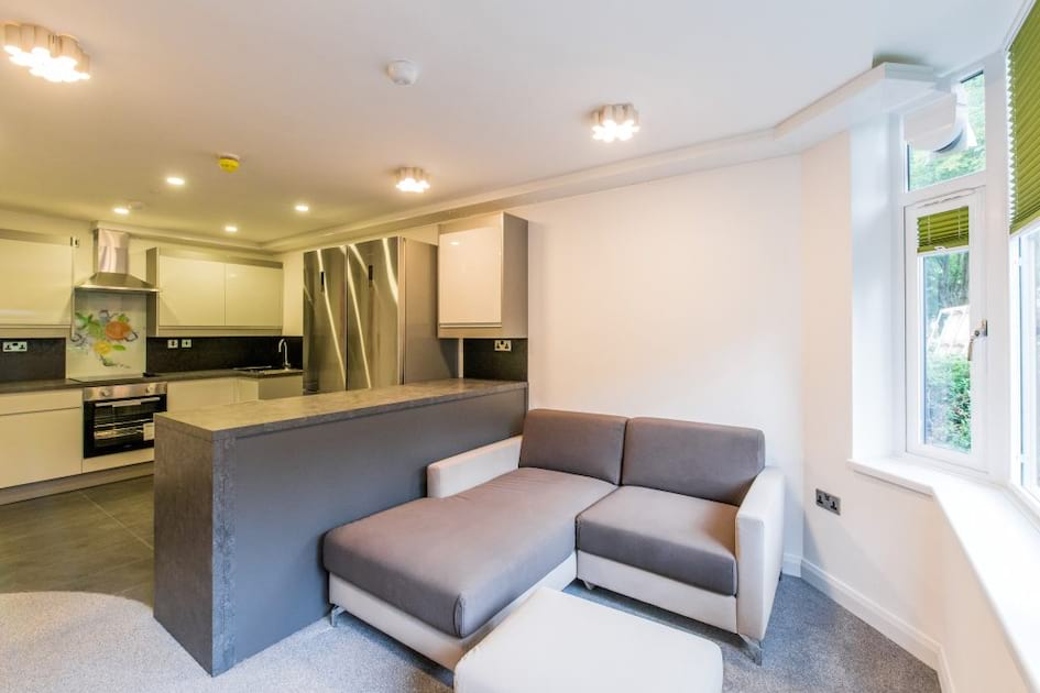 JVBF2 Living Area / Kitchen