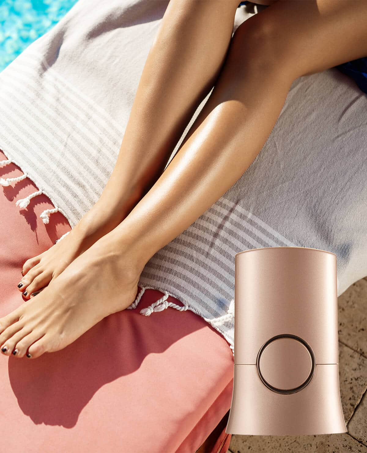 Sensitive Laser Hair Removal Home Device | CrazyBee