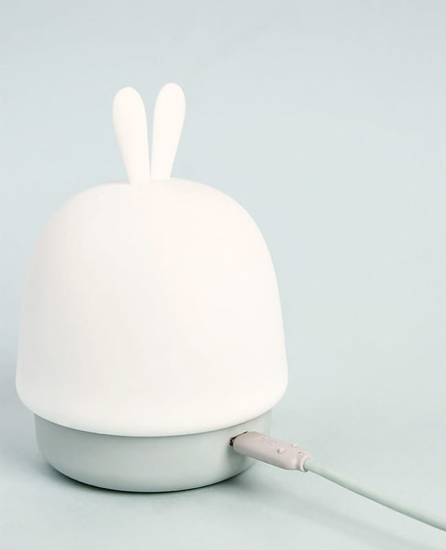 Bunny Portable Soft Tap Night Light: Safe & Soft|  CrazyBee