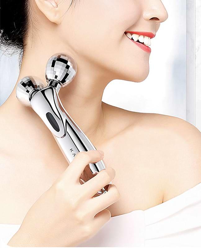 Handheld Microcurrent Facial Roller | CrazyBee