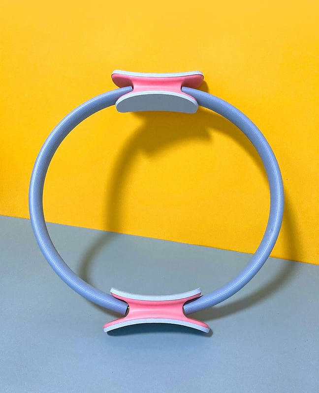15 inch Blue Unbreakable Pilates Resistance Ring | CrazyBee