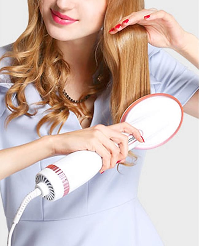 Hot Air Brush Styler-Ceramic Ionic Protection | CrazyBee